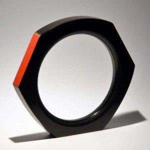 Eric de Gésincourt, bracelet corian & formica